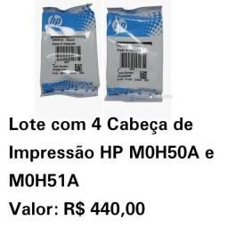 Título do anúncio: Cabeça De Impressão HP M0H51A Black/ M0H50A Color