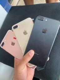 iPhone 7 Plus 128 gigas novo de vitrine garantia de 90 dias