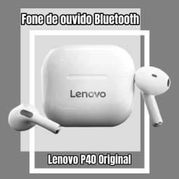 Título do anúncio: Fone Bluetooth 5.0 Lenovo P40 Lacrado!