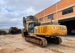 Escavadeira hidráulica John Deere (entrada+parcelas)