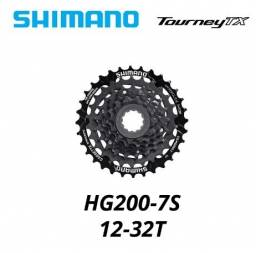 cassete  Shimano CS-HG200, 7 velocidades 7v 12-32t