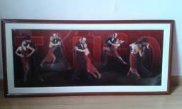 Pôster Emoldurado tema Tango