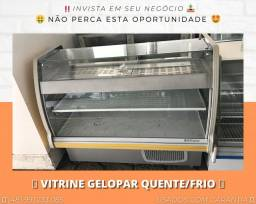 Balcão vitrine Refrigerado e Aquecido 2 em 1 - Seminovo - Com garantia | Matheus