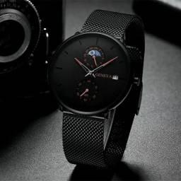 Oferta Relógio c/ pulseira em aço