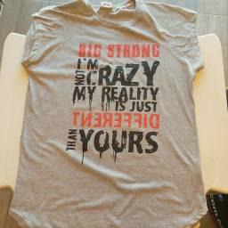 Camisetas para treino