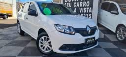 Renault Sandero Aut 1.0 2019 completo, com apenas 30 mil km