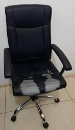 Cadeira de Escritório de Couro