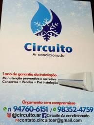 *Instalação e manutenção de ar condicionado .fazemos serviços predial