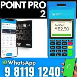 Maquininha de cartão Point Pro 2