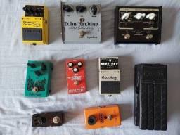 Título do anúncio: Set pedais guitar bass aceito trocas
