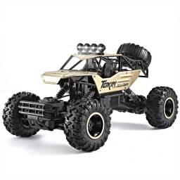Título do anúncio: Carrinho 4x4 Metal Crawler Rc 2.4 Monster Truck P.entrega