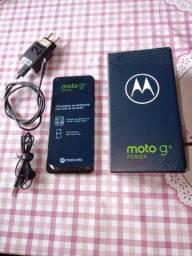Smartphone Motorola G9 Power 128gb 4 RAM 6000mAh  6.8Tela Zerado Novo