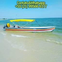 Lancha Taxi Boat - Aluguel, Pescaria, Passeios nas Ilhas Tropicais de Mangaratiba
