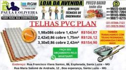 Telha PVC Modelo Plan