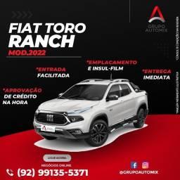 Título do anúncio: fiat toro ranch 2022