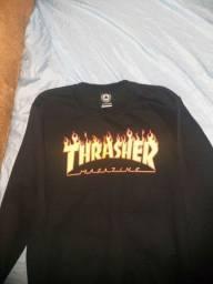 Moletom careca original marca Thrasher Magazine