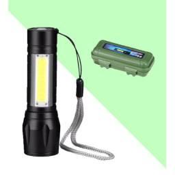 Mini Lanterna Tática Com Led