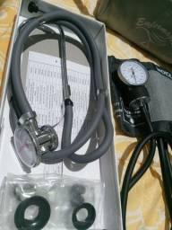 Esfigmomanometro Aparelho De Pressão + Esteto<br><br>