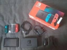 Nintendo Switch 2021 32 GB Blue and Red mais Garantia Fabricante e Estendida