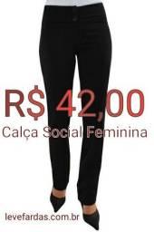Título do anúncio: Calça Social Feminina em Two Way