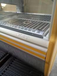 Balcão estufa quente gelopar