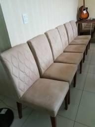 06 Cadeiras para Mesa de Jantar