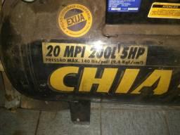 Compressor Chiaperine Profissional 20MPI 200L 5HP