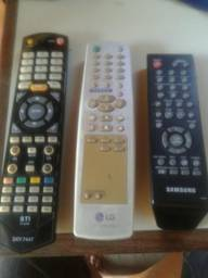 Controles de TV e DVD