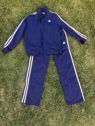 Conjunto casaco e calça adidas original tam 12