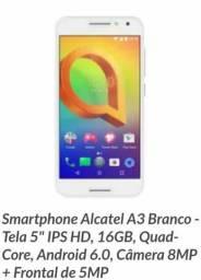 Vendo esse celular Alcatel A3 semi novo