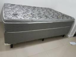 Cama box plumatex
