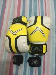 Luva de Boxe/Muay Thai. Número 14 (Adrenalina Evolution)