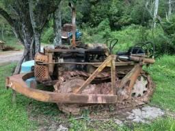 Trator esteira Fiat