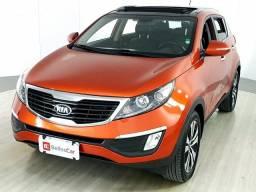 Kia Motors Sportage EX 2.0 16V/ 2.0 16V Flex Aut. - Laranja - 2014 - 2014