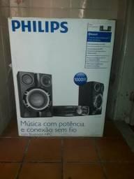Micro sistem - Som - Radio - Bluetooth - Phillips - 1000W - RMS