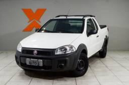 Fiat Strada Working HARD 1.4 Fire Flex 8V CE - Branco - 2018 - 2018