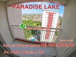 Paradise Lake 84M² 03 Qtos 02 vagas