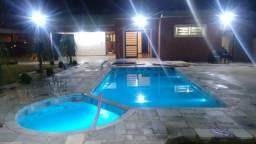 Casa térrea com piscina no Cond Egisto Ragazzo em Limeira
