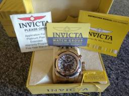 cdeaa832154 Relógio Invicta Zeus Bolt Skeleton Original Modelo 12900