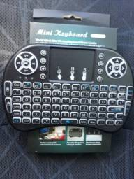 Mini keyboard para smart TV