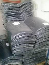 Sacos de lixo 200l preto e azul