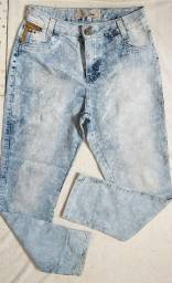 Calça Jeans Cós Alto For Use 42