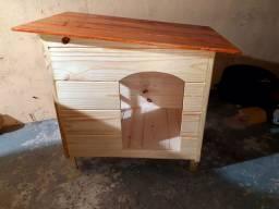 Casa Pet  para Cães  e Gatos com Janela