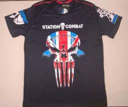Vendo Camiseta Station Combat