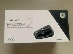 Intercomunicador FreeCom 2 Duo - Zero na caixa