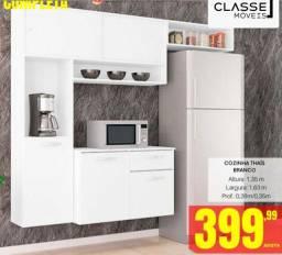 Cozinha Thaís compacta Branca