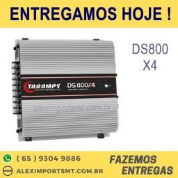 Modulo Taramps Ds800 4 Canais 800w Bridge 4ohms Amplificador tarampes comprar usado  Cuiabá