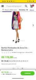Barbie LACRADA saí glitter no pente