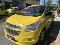 Spin lt 2014 ex taxi, completa + gnv + revisada + garantia + aprovação imediata!!!