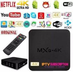 Transforme sua tv em uma smart completa aceito cartão